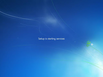 Proses starting services